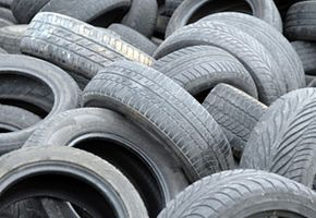 Think twice before you dispose of your old tires. Check out these cool green science pictures.