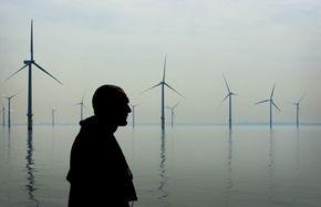 England's 25-turbine Burbo Bank Wind Farm can produce over 90 megawatts of energy.