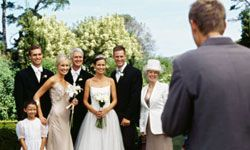 There's a chance your extended family and friends won't ever see those wedding photos.