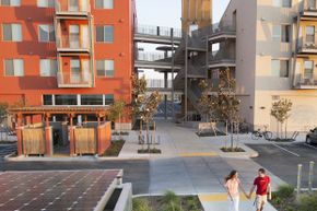 Green communities like West Village at UC Davis in California seem like an ultra-modern concept, but mankind has been finding ways to work with the environment for centuries.