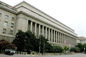 Image Gallery: Washington, D.C. The Environmental Protection Agency building in Washington, D.C.. See more pictures of Washington, D.C..