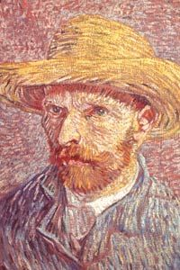 Vincent Van Gogh, whose feverish pace of painting and writing resembles hypergraphia, cut off his ear because of hallucinations caused by epilepsy.