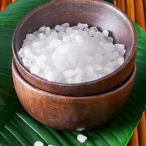 Epsom salt baths can help to relax sore muscles and soften skin.