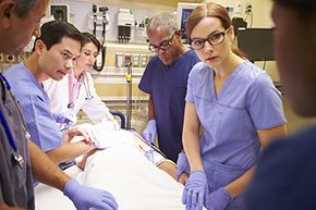 Keeping cool under pressure is key to a career in nursing.