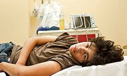 When a patient has a fever above 103 degrees Fahrenheit (39.4 degrees Celsius), it could be a medical emergency.