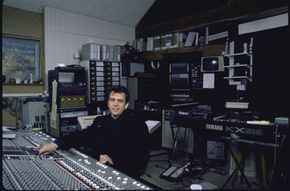 Home recording studios don't have to be as elaborate as that of Peter Gabriel's.