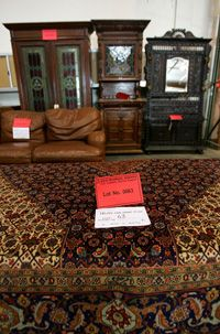 All kinds of items can be offered at an estate sale, from valuable antiques to average household possessions.