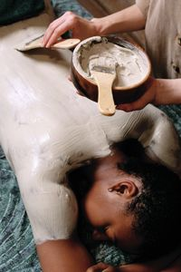 A soothing full body treatment is something you'll learn as an esthetician.