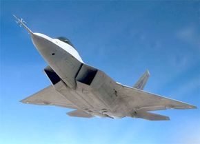 The F/A-22 is an air-superiority fighter with improved capability over current Air Force aircraft.