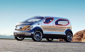 Photo © 2007, courtesy Airstream                                            Ford's Airstream Concept