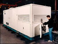 AFV Image Gallery A 250 kW fuel-cell with a built-in natural gas reformer. See pictures of alternative fuel vehicles.