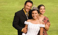 A quinceañea is just as exciting to the parents as it is to the girl.