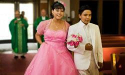 Many of the symbolic gifts a quinceañera might receive suggest maturity and responsibility.
