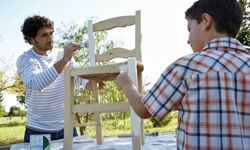 Painting is a good option for furniture with damaged wood.