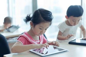 In today's classrooms, tablet PCs are becoming a much more common learning tool for students -- even really young ones. Will they continue to be?