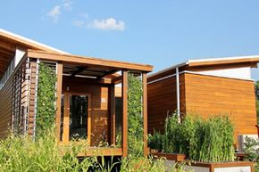 The University of Maryland's WaterShed house.
