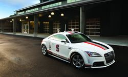 The Pikes Peak Autonomous Audi TTS