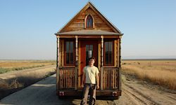 The Epu, an 89-square-foot house owned by the founder of Tumbleweed Tiny House Company, Jay Shafer.