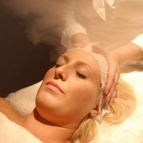 Getting Beautiful Skin Image Gallery Face steaming is a treatment that can help to clear out clogged pores. See more pictures of ways to get beautiful skin.