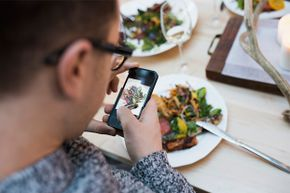 Do you really need to post a picture of your meal — and a second post about how delicious it was?