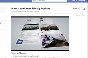 Facebook's help center features a video to help you learn about your privacy settings.