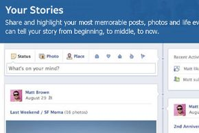 """Facebook's strategy for getting users on board with the Timeline layout is to pitch it as an opportunity to """"tell your story."""""""