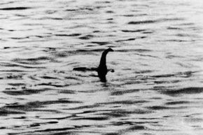 The famous 1934 photograph of the Loch Ness monster.  Just before his death in 1994, Chris Spurling confessed that he and some other men had staged the picture.