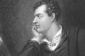 Lord Byron maintained his poet's look with a strict diet -- but it was nutritionally really lacking.
