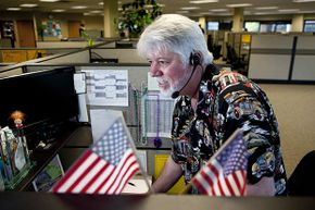 Kevin McGowan, an employee with Gallup, works at one of their call centers doing a political poll. Some polls are very unscientific. Others are properly done but the media might spin the results in a way that misrepresents them.