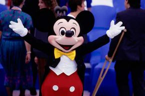 Hey Mickey, how many DVDs do you have in the Disney Vault? That many?