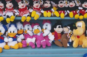 """Wonder many of these Disney characters have had movies stored in the """"vault."""" Fortunately for kids and unfortunately for their parents, the expensive stuffed toys are available all the time."""