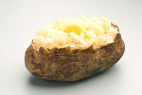 You can avoid the potato skin and still get lots of nutrition.