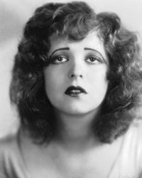 """Clara Bow, the silent era's """"It"""" girl, applied red lipstick in the shape of a heart or Cupid's bow. See more beautiful skin pictures."""
