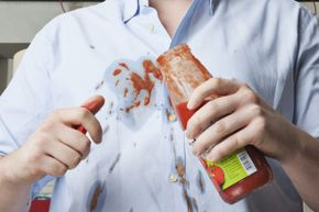 Everyone's had one of these moments. Thankfully, most stains don't merit a place in the history books.