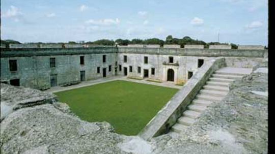 Family Vacations: Castillo de San Marcos St. Augustine
