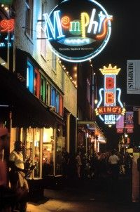 Beale Street has remained the heart and                                  soul of music in Memphis.
