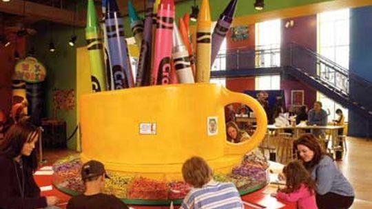 Family Vacations: Binney  Smith Crayola Factory