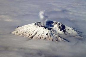 The infamous North American volcano Mount St. Helens showed signs of activity in 2004 after a mostly quiet quarter-century.