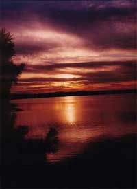 Ouachita offers amazing lakeside views.
