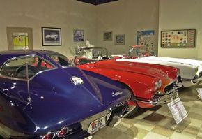 Stroll down memory lane at the National Corvette Museum.