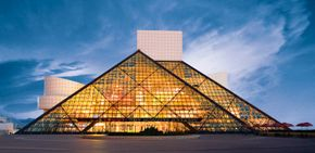 Music-lovers will enjoy the memorabilia as well as the unique architecture of the I. M. Pei-designed museum.