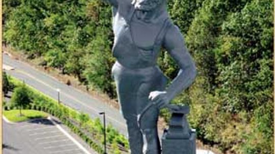 Family Vacations: Vulcan Statue