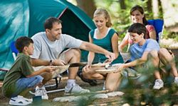 When you're looking for a tent, pay attention to all the extras that would make you and your family more comfortable as you rough it.