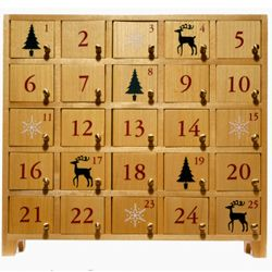 Fill your advent calendar with goodies for an extra treat!