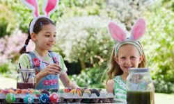 Decorating Easter eggs is a long-standing tradition.