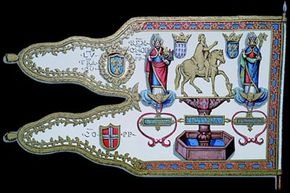 This family crest dating from around 1648 belonged to Louis XII, King of France.