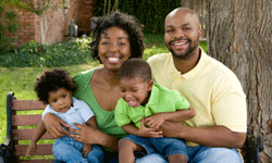As your family grows, build on the safety net you maintained as a couple.