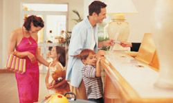 Some hotels may give you discounted rates for each child staying in your room.