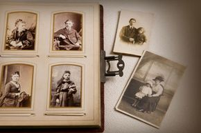 If you can gather any sets of family photos, consider digitizing them for preservation.