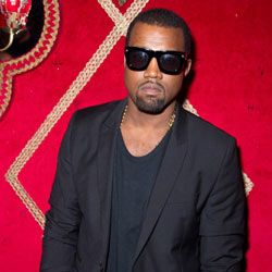Kanye may have brought back the shutter shades, but he's most likely to be seen in a pair of classic Wayfarers.